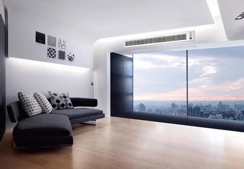 中央空调安装效果